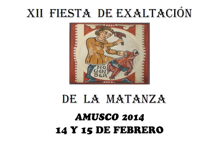 MATANZA AMUSCO 2014